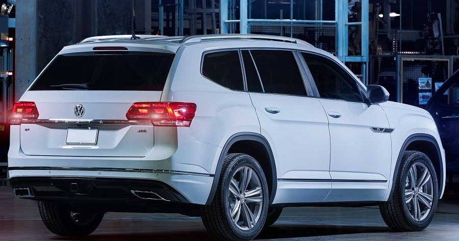 2018 VW Atlas - VW introduces performance inspired R-Line | Car Reviews | New Car Pictures for ...
