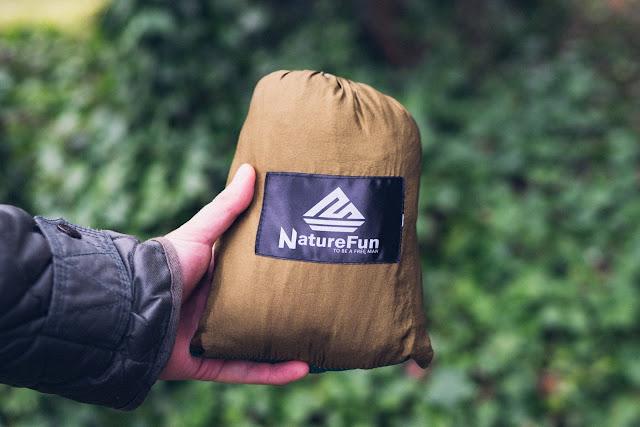Gear of the Week #GOTW KW 03  NatureFun Hängematte  ultraleichte-Hängematte zum Reisen  Trekking-Hängematte 02