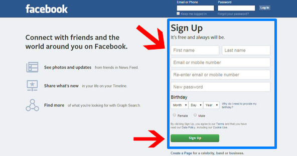 Www New Facebook Account Open ~ W3FX