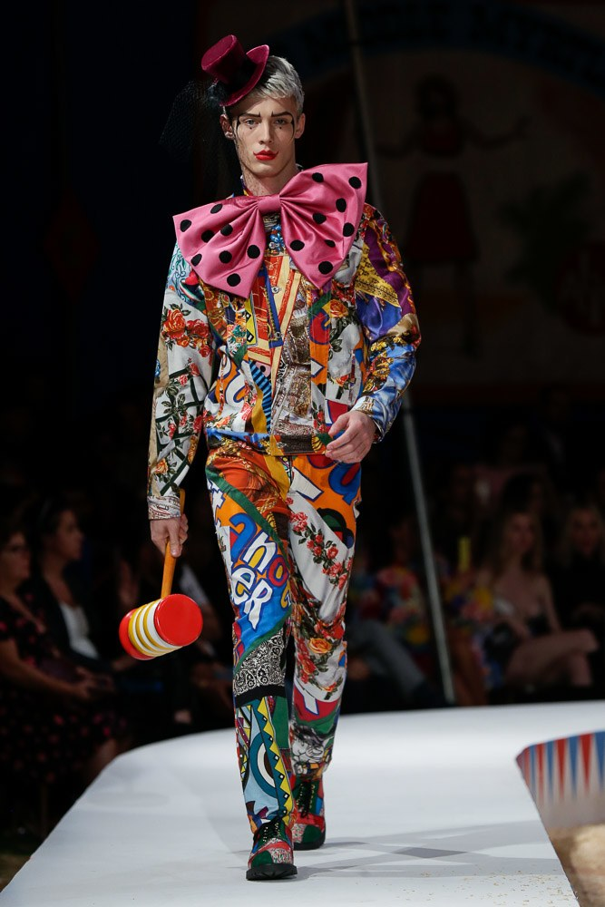 Moschino Spring Summer 2019 Menswear Collection Los Angeles