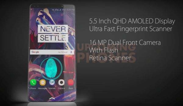 First concept of OnePlus 6