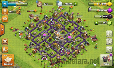 cara mendapatkan builder 5 di town hall 6 clash of clans