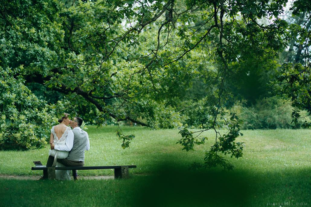 kāzu fotosesija dabā Daugmale ozols