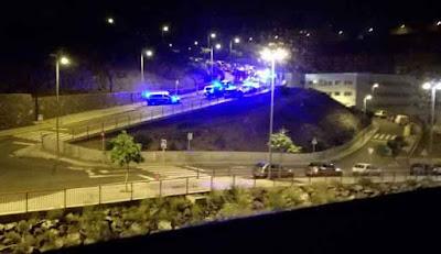 La Policía dispara a un coche en las palmas G.C. tras persecución que pudo acabar en tragedia