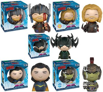 Thor: Ragnarok Dorbz Series 1 Vinyl Figures by Funko x Marvel