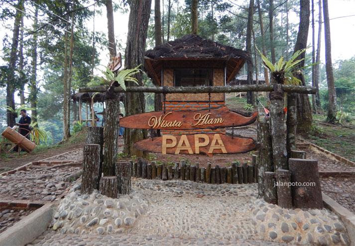 Wisata Panorama Pabangbon yang lagi hits di Bogor