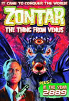 Póster película Zontar La cosa que llegó de Venus