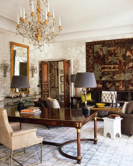 50 Splendid Scandinavian Home Office And Workspace Designs: Splendid Sass: WINDSOR SMITH HOMEFRONT: DESIGN FOR MODERN