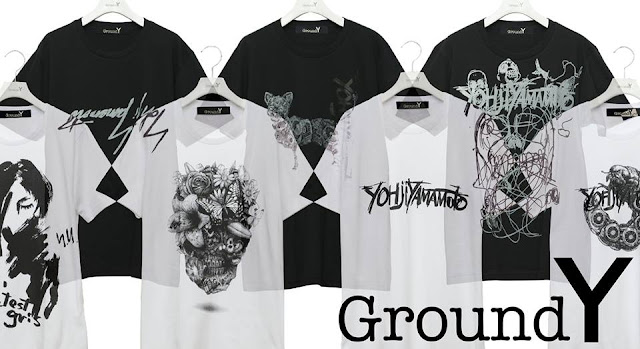 Ground Y × YASUTO SASADA T-SHIRTS COLLECTION 2016