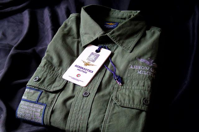 アエロナウティカ ミリターレの長袖シャツ