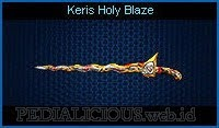 Keris Holy Blaze