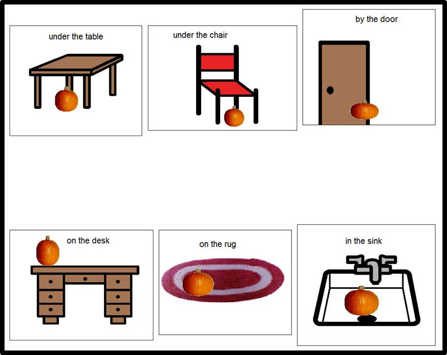 Kindergarten Spatial Concepts Worksheets