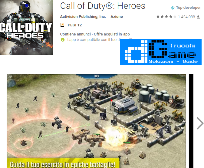 Trucchi Call of Duty®: Heroes Mod Apk Android v3.2.0