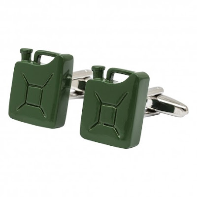 Jerry Can Cufflinks