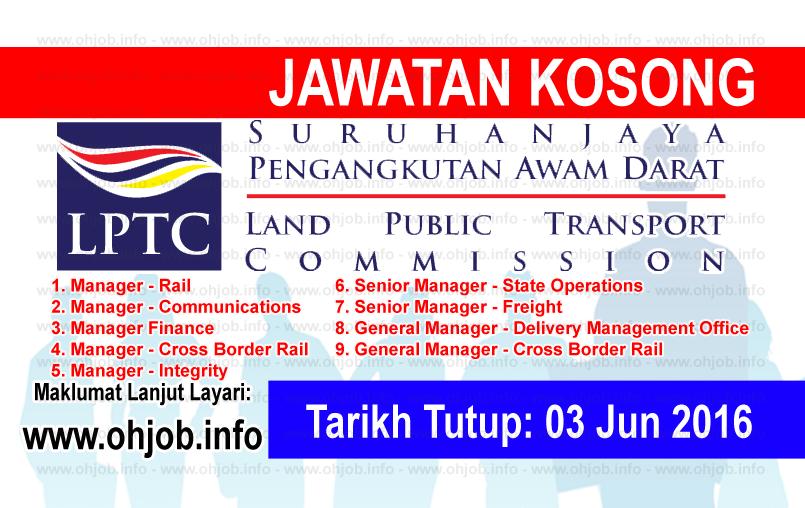 Jawatan Kerja Kosong Suruhanjaya Pengangkutan Awam Darat (SPAD) logo www.ohjob.info jun 2016