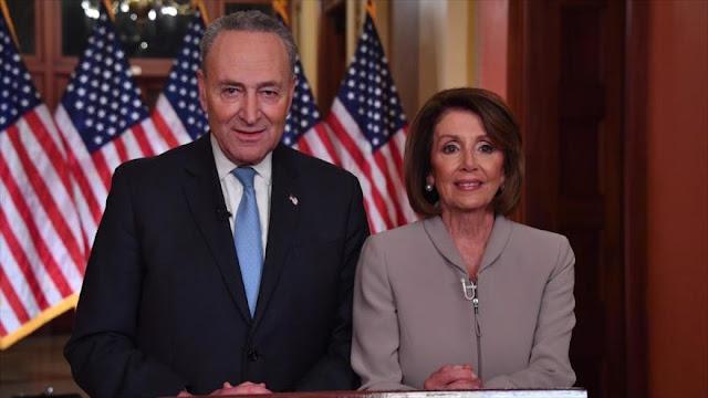 Trump y demócratas continúan su disputa por muro fronterizo