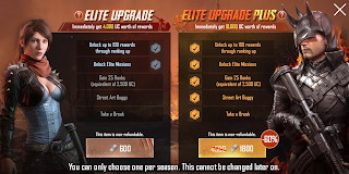harga upgrade royale pass pubg mobile