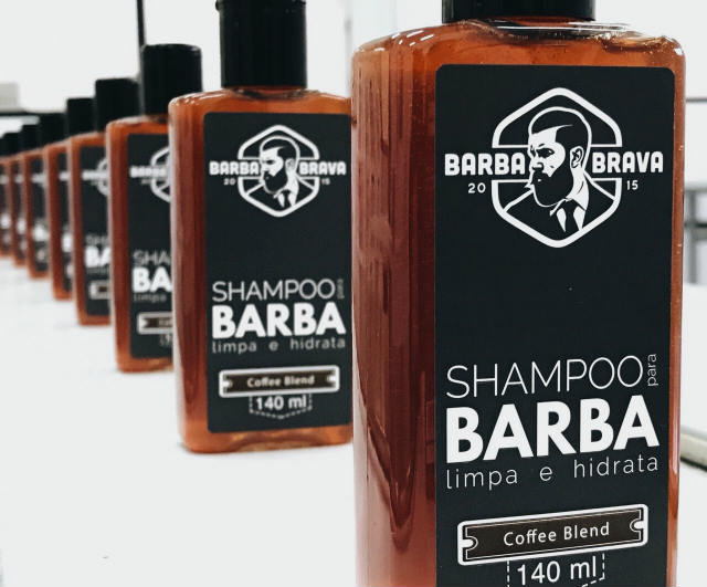Shampoo para Barba Coffee Blend Barba Brava