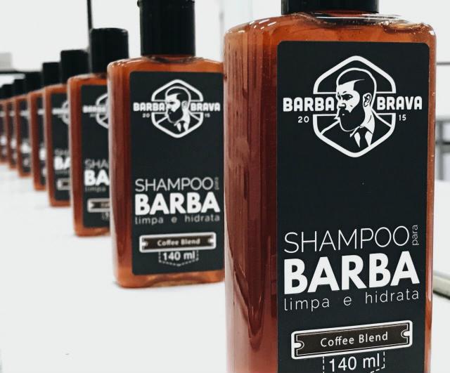 Shampoo para Barba Coffee Blend Barba Brava