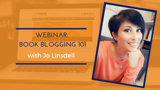 #PromoDay2019 Webinar: Book Blogging 101 with Jo Linsdell