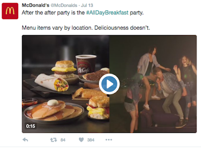 McDonald's uses video for Twitter