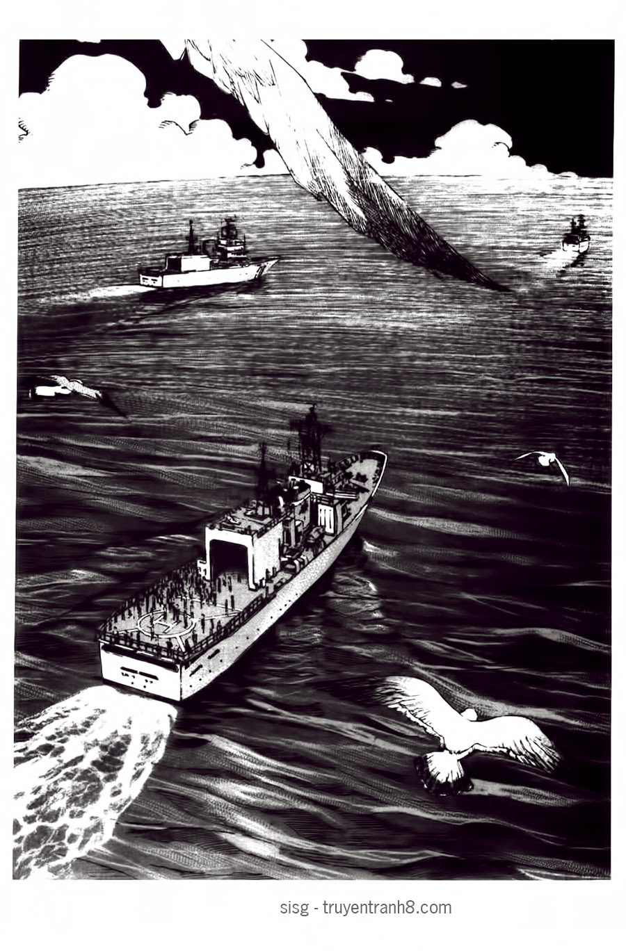 TT8 - Umizaru - Khỉ Biển Chap 119 - Truyen.Chap.VN