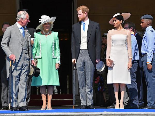 Pierwsze Garden Party księżnej Sussex w Pałacu Buckingham + więcej.