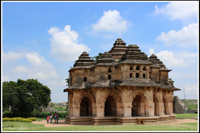 Lotus Mahal (Queen palace), Hampi