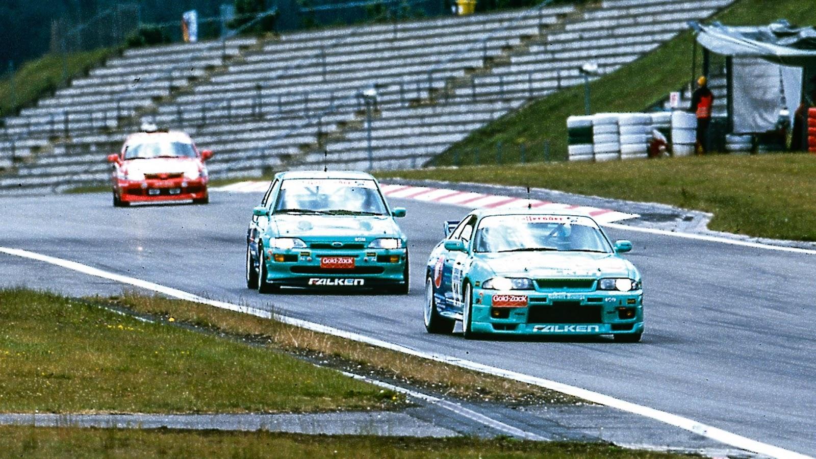 1999 - Nissan Skyline GT-R R33 & Ford Escort Cosworth