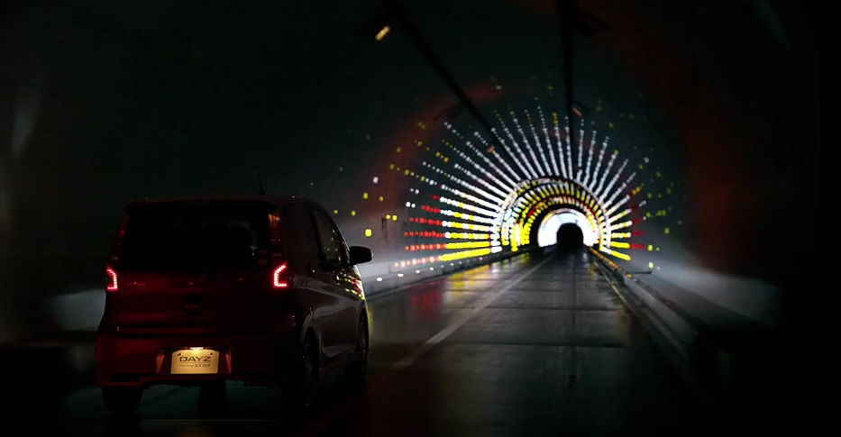 The Gilles & Cecilie Studio Nissan Dayz Dream Tunnel