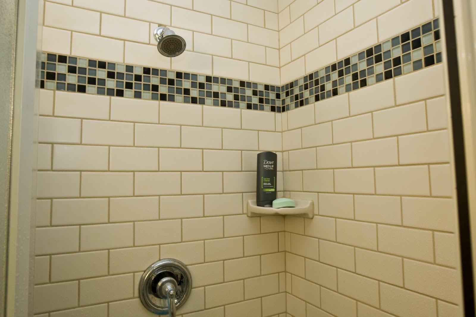 Glass Mosaic Tile Bathroom Ideas: Vermont Professional Construction & Painting LLC: VT Pro's