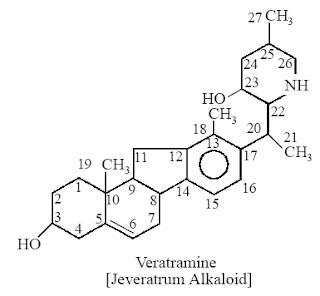 Veratramine [Jeveratrum Alkaloid]
