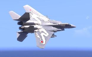 Arma3用F-15 Eagle MODのJASDF 303 TFS TAC MEET 2003 白龍 - White Dragon