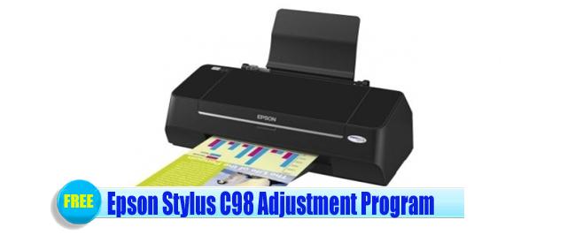 Epson Stylus C98 Adjustment Program