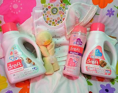 Dreft Helps You Prepare For Bringing Home A Newborn! #Amazinghood