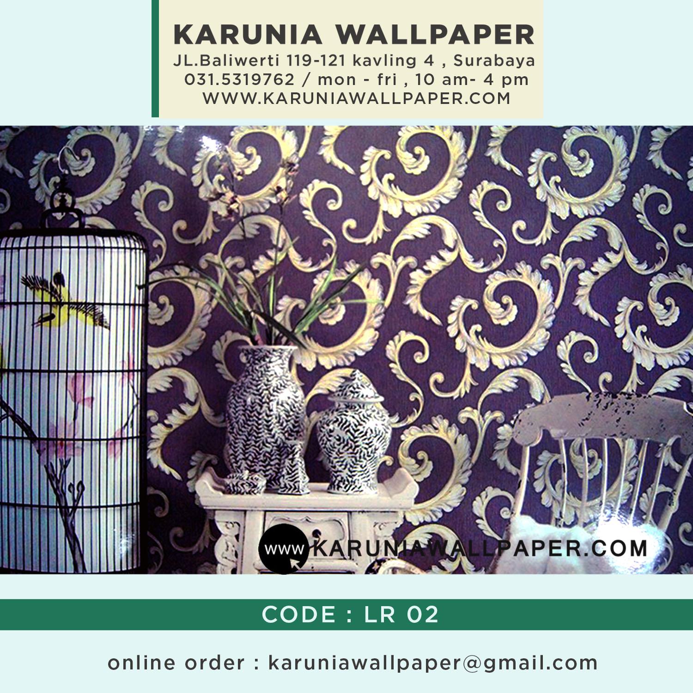 wallpaper dinding klasik kamar tidur