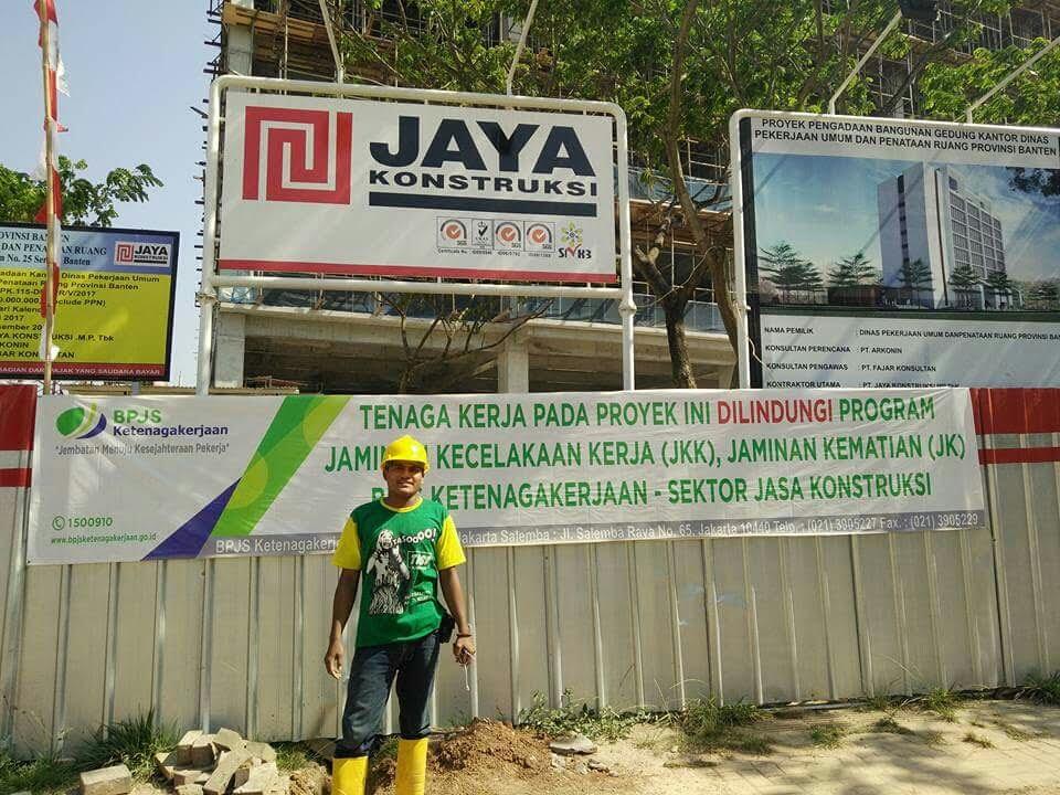Berpengalaman di Berbagai Perusahaan Kontruksi