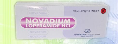 Obat Diare Novadium Loperamid HCl