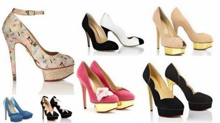 Koleksi Model Sepatu Sandal High Heels Terbaru