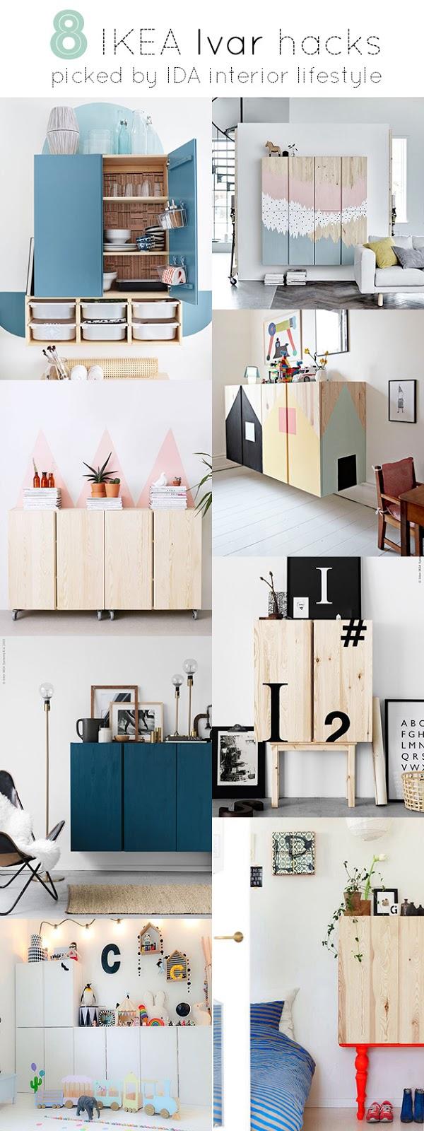 8 Ikea IVAR hacks | IDA Interior LifeStyle | Bloglovin\'