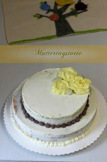 Торта с рози за Денят на майката / Muttertagstorte