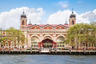 Ellis Island National Museum of Immigration, Upper New York Bay. (Credit: © littleny / Fotolia) Click to Enlarge.