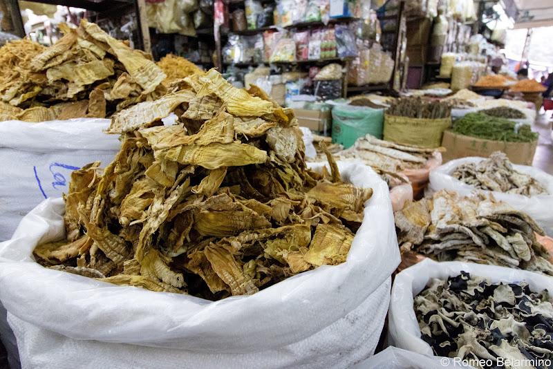 Dried Mushrooms Dong Xuan Market Things to Do in Hanoi Vietnam