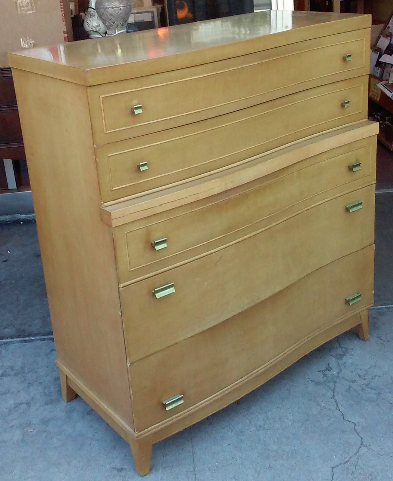 Uhuru furniture collectibles sold reduced blond for Reduced furniture