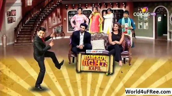 Comedy Nights With Kapil Parineeti & Aditya 14th Sep 2014 WEBHD 480p 300mb