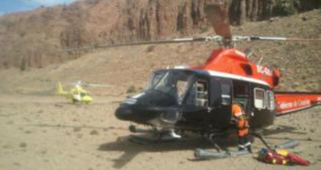 Muere en Tenerife practicando el salto del pastor