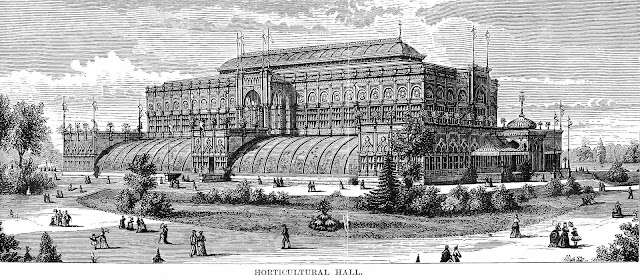Centennial Exhibition of 1876 horticultural hall