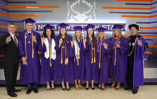 NSU awards degrees to 942 graduates in May graduation ceremony: Full List