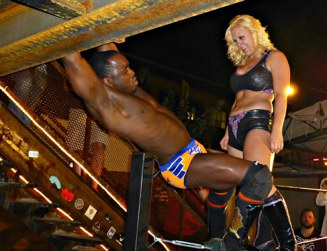 Rachel Summerlyn - Female Wrestling