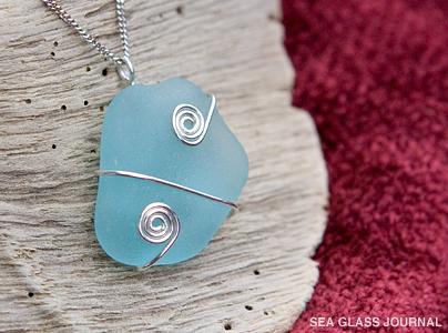 Diva Tube: DIY Wire Wrap Sea Glass Pendant